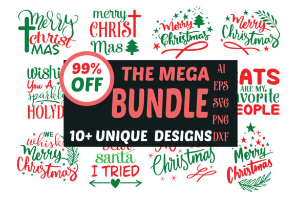 Merry Christmas Svg Design Free Svg Cut Files Create Your Diy Projects Using Your Cricut Explore Silhouette And More The Free Cut Files Include Svg Dxf Eps And Png Files