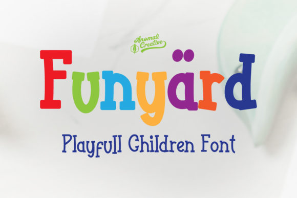 Print on Demand: Funyard Slab Serif Font By anomali.bisu