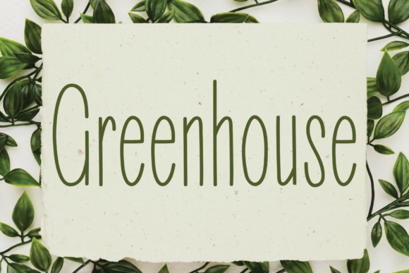 Print on Demand: Greenhouse Sans Serif Font By handmadetipe