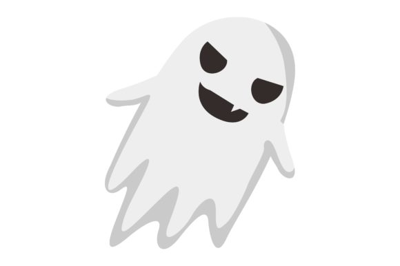 Halloween Cute Ghost Vector Set Bundle Graphic Preview
