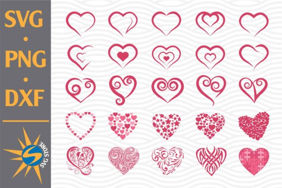 Print on Demand: Heart Bundle Graphic Crafts By SVGStoreShop