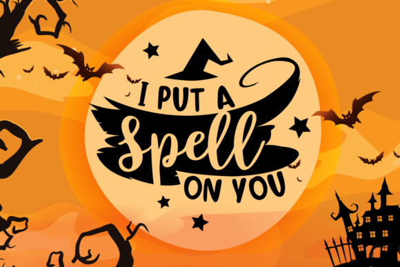 I Put a Spell on You Graphic Crafts By Craft-N-Cuts