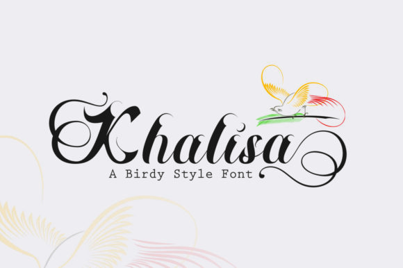 Print on Demand: Khalisa Script & Handwritten Font By Nandatype