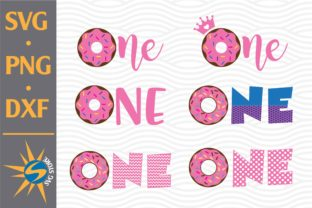 Print on Demand: One Donut Graphic Crafts By SVGStoreShop