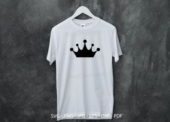 Princess Crown Bundle Graphic Item