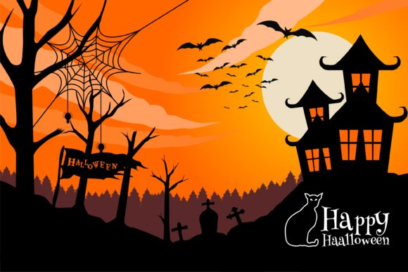 Print on Demand: Scary Halloween Illustration Graphic Illustrations By edywiyonopp
