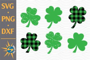 Print on Demand: Shamrock Leaf Graphic Crafts By SVGStoreShop