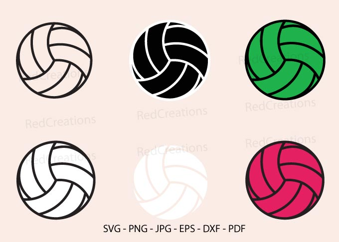 Volleyball Clipart Graphic By Redcreations Creative Fabrica