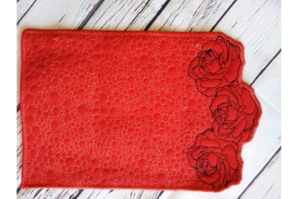 Wallet in the Hoop Embroidery Download