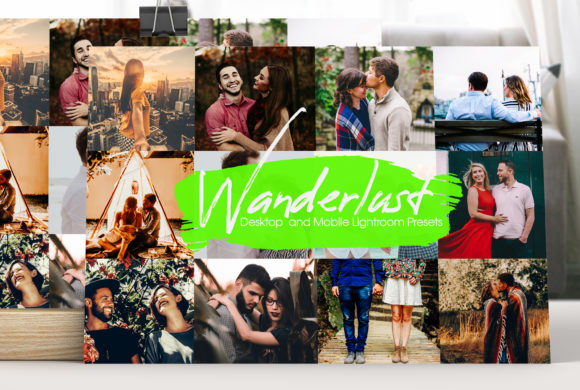 Wanderlust  Lightroom Presets Graphic Actions & Presets By MintDesign