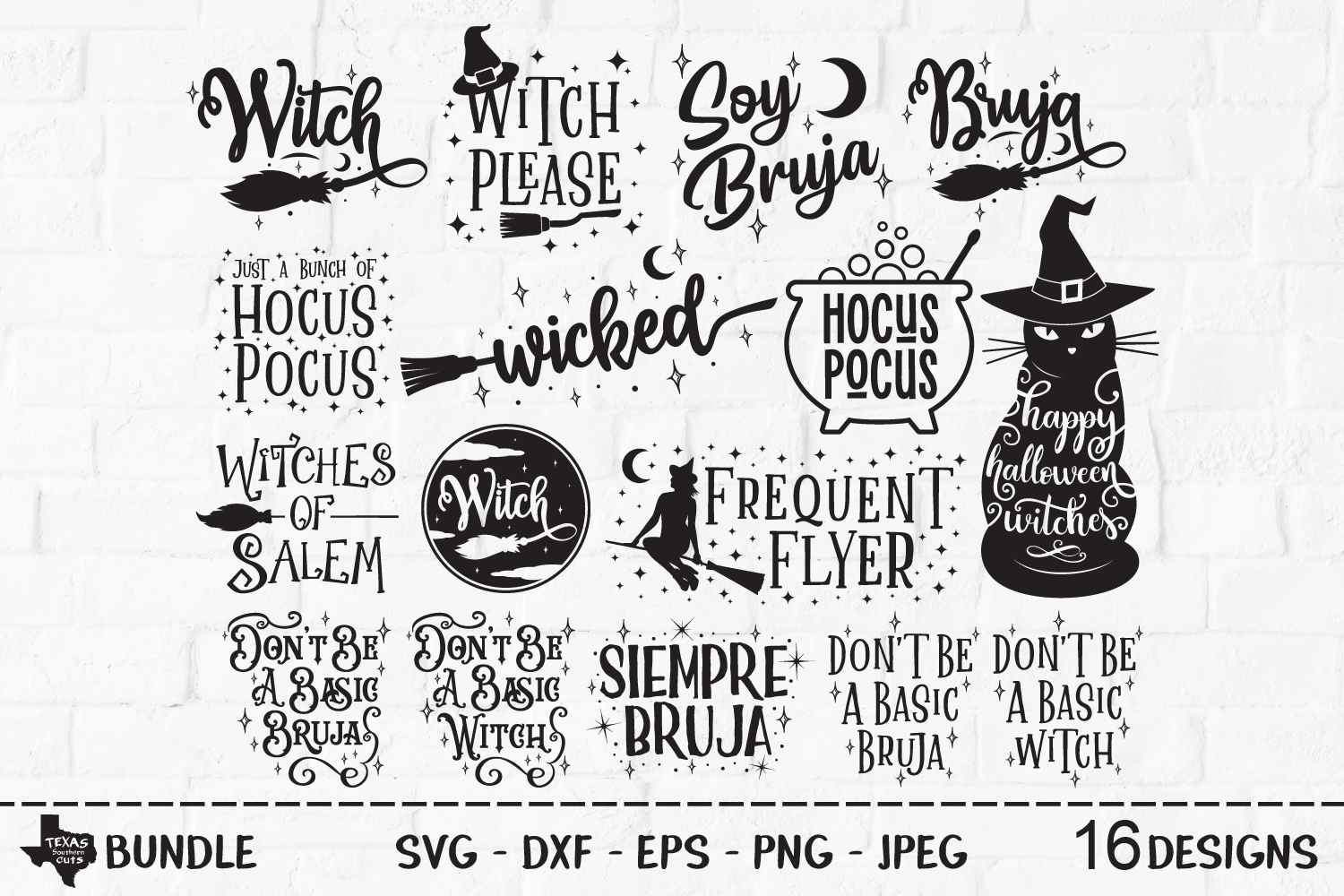 Wicked Witch Halloween Super Bundle Graphic By Texassoutherncuts Creative Fabrica
