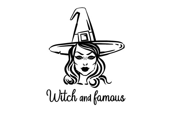 Witch and Famous Halloween Plotterdatei von Creative Fabrica Crafts