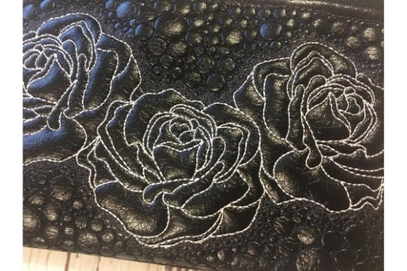 Cosmetic Bag in the Hoop Embroidery Item