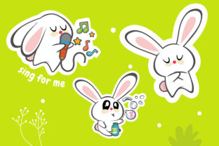 Cute Bunny Best Graphic Graphic Illustrations By onoborgol