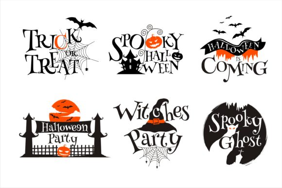 Print on Demand: Halloween Craft Collection Graphic Illustrations By edywiyonopp