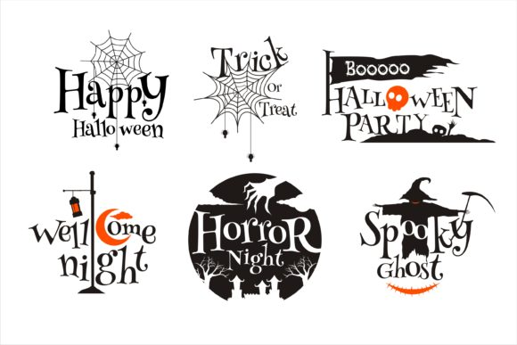 Print on Demand: Halloween Crafting Collection Graphic Crafts By edywiyonopp