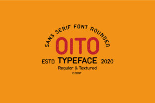 Print on Demand: Oito Sans Serif Font By Moreltype 1