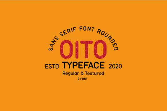 Print on Demand: Oito Sans Serif Font By Moreltype