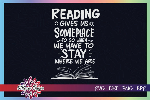 Reading Give Us Some Place to Go Graphic Graphic Crafts By ssflower