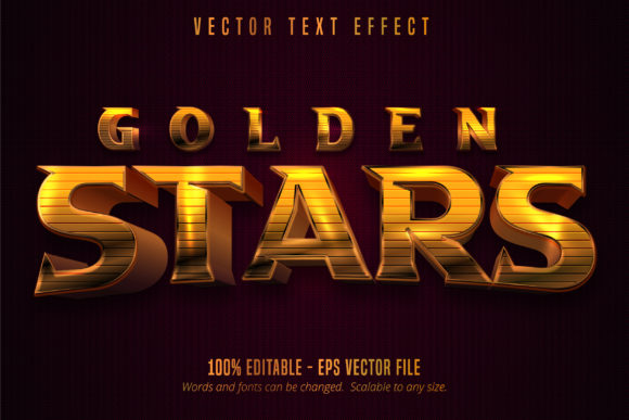 Print on Demand: Shiny Golden Style Text Effect Graphic Graphic Templates By Mustafa Bekşen