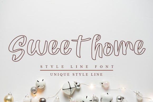 Print on Demand: Sweet Home Script & Handwritten Font By K_IN Studio