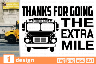 Thanks for Going the Extra Mile Graphic Crafts By SvgOcean