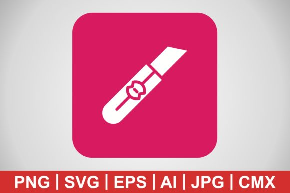 Print on Demand: Vector Cutter Icon Graphic Icons By IYIKON