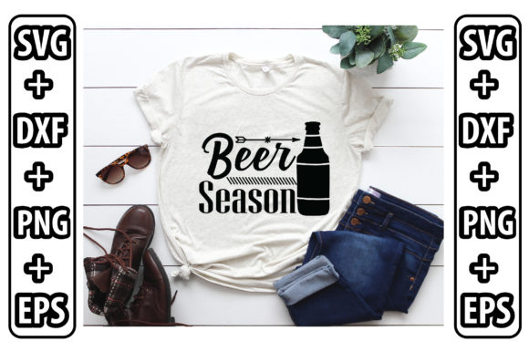 Beer Season Graphic Crafts By Svg Store