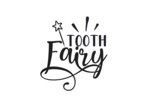 Tooth Fairy Designs & Drawings Craft Cut File By Creative Fabrica Crafts