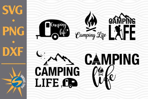 Print on Demand: Camping Life Graphic Crafts By SVGStoreShop