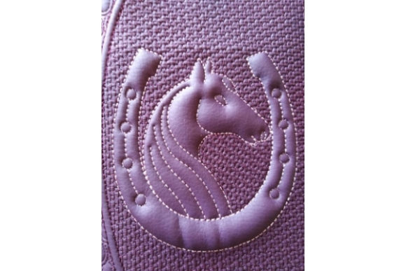 Cover for Book in the Hoop - Horse & Horseshoe Embroidery Design