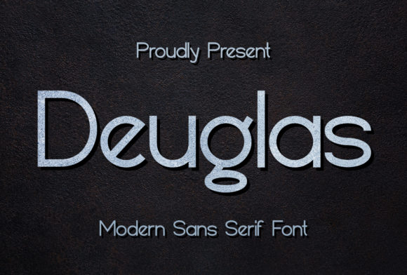 Print on Demand: Deuglas Sans Serif Font By Sealoung