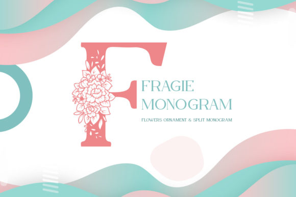 Print on Demand: Fragie Monogram Display Font By Monogram Lovers