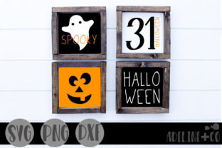Halloween Mini Sign Bundle Graphic Crafts By adelinenco