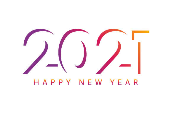 Happy New Year 2021 Vector Design Graphic Illustrations By hartgraphic