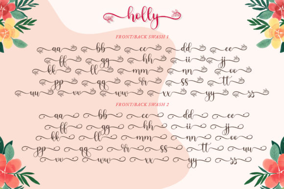 Print on Demand: Holly Script Script & Handwritten Font By airotype - Image 10