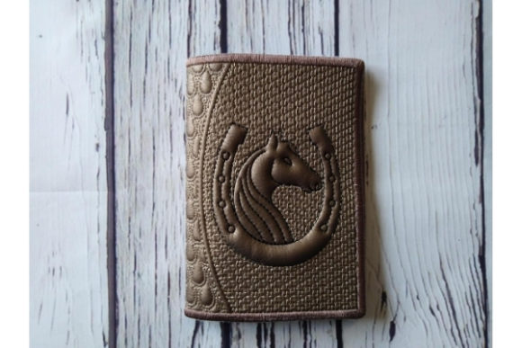 Passport Cover in the Hoop Embroidery Download