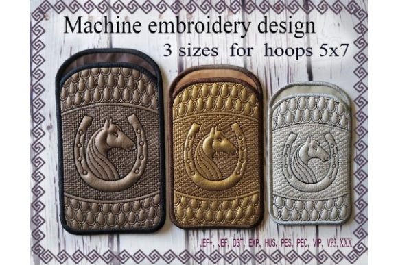 Phone Case in the Hoop Embroidery