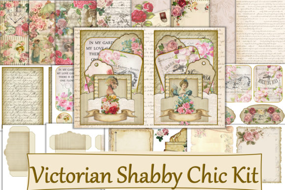 Print on Demand: Victorian Shabby Chic Journal Kit Graphic Crafts By The Paper Princess