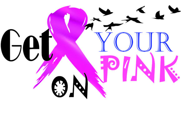 Brest Cancer, Pink Ribbon, Png File Graphic Graphic Templates By AlaBala