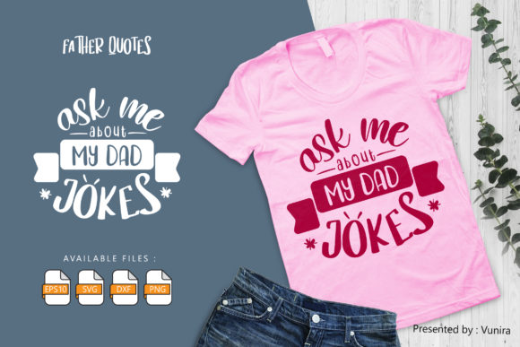 10 Father Bundle | Lettering Quotes Graphic Item