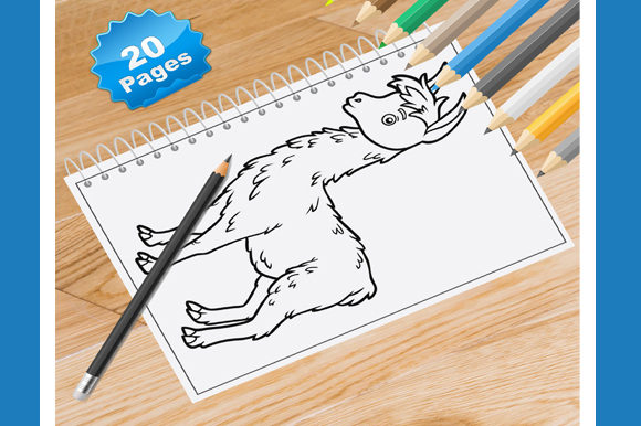 20 Alpacas Coloring Pages for Kids Graphic Coloring Pages & Books Kids By Coloring World