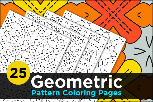 Print on Demand: Abstract Colorful Pattern Pages for Kids Graphic Coloring Pages & Books Adults By Riduwan Molla