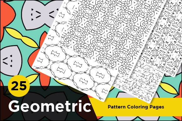 - Abstract Pattern Coloring Pages For KDP (Graphic) By Riduwan Molla ·  Creative Fabrica