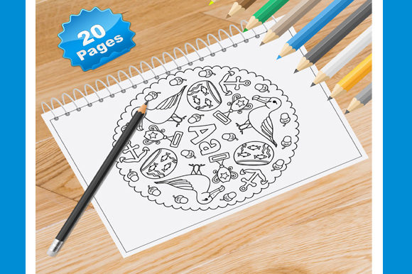 Animal Mandala Coloring Pages for Aduls Graphic Coloring Pages & Books Adults By Coloring World