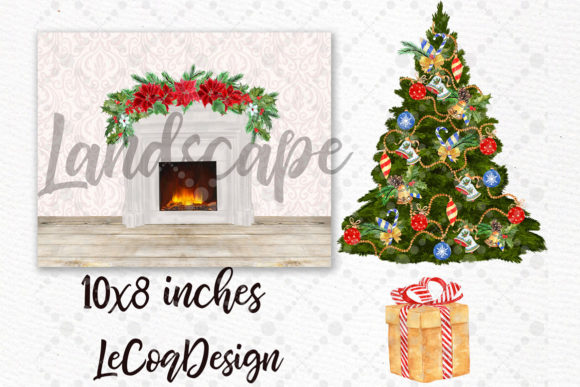 Christmas Family Clipart Sitting Family Graphic Illustrations By LeCoqDesign - Image 4
