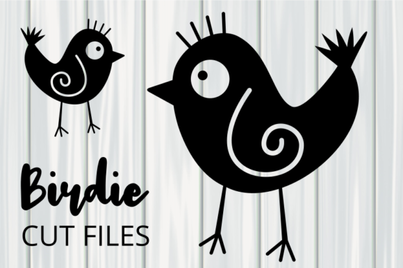 Print on Demand: Cute Little Birdie Clipart Graphic Crafts By Prawny