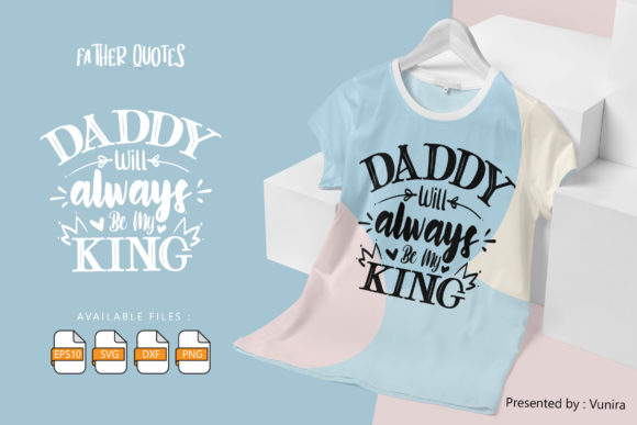 Print on Demand: Father | Lettering Quotes Graphic Crafts By Vunira