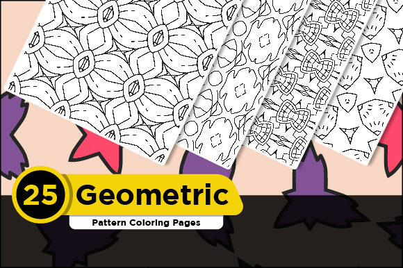Print on Demand: Pattern Coloring Pages for Kids Graphic Coloring Pages & Books Adults By Riduwan Molla