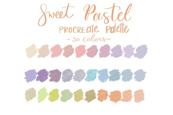 Sweet Pastel Graphic Add-ons By Poycl Jazz